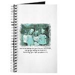 Little Girl and Firetruck Journal