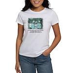 Little Girl and Firetruck Women's T-Shirt