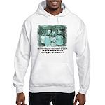Little Girl and Firetruck Hooded Sweatshirt