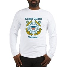 Long Sleeve Coast Guard Veteran Shirt