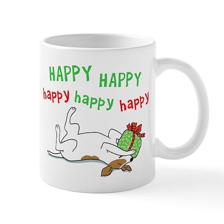 Happy Holiday Jack Russell Mug