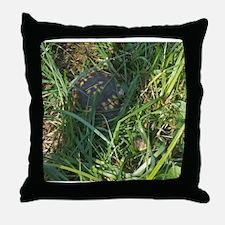 Hidden Turtle Throw Pillow