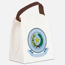 Texas Seal.png Canvas Lunch Bag