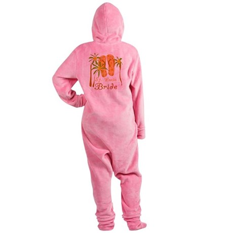 flipstluciabride.png Footed Pajamas