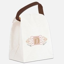 DCOOLMONOGRAM.png Canvas Lunch Bag