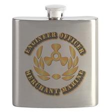 USMM - Engineer Officer Flask