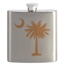 SC Palmetto Crescent (2) orange.png Flask