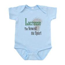 Lacrosse The Newest Old Sport Infant Bodysuit
