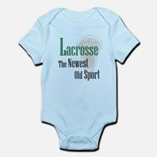 Lacrosse The Newest Old Sport Infant Bodysuit