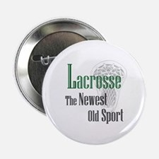 """Lacrosse The Newest Old Sport 2.25"""" Button (10 pac"""