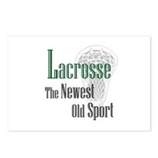Lacrosse The Newest Old Sport Postcards (Package o