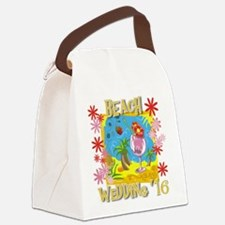 Beach Wedding 16 Canvas Lunch Bag