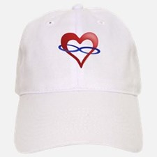 Infinite Love Heart Baseball Baseball Cap