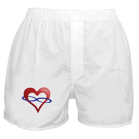 Infinite Love Heart Boxer Shorts