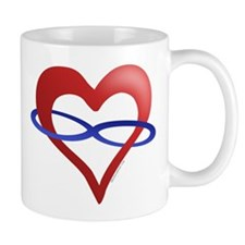 Infinite Love Heart Mug