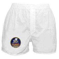 US Navy Seabees Lava Glow Boxer Shorts