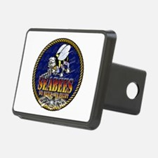 US Navy Seabees Lava Glow Hitch Cover