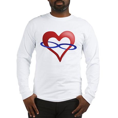Infinite Love Heart Long Sleeve T-Shirt