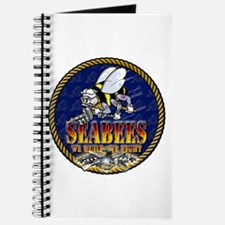 US Navy Seabees Lava Glow Journal