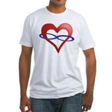 Infinite Love Heart Shirt
