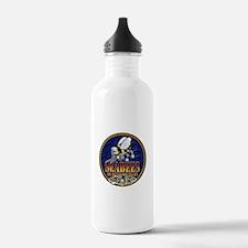 US Navy Seabees Lava Glow Water Bottle