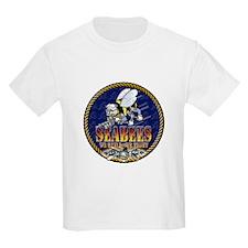 US Navy Seabees Lava Glow T-Shirt