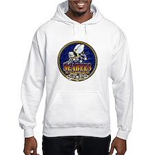 US Navy Seabees Lava Glow Hoodie Sweatshirt