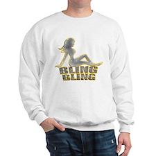Bling Bling Mudflap Girl Sweatshirt