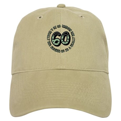 60th birthday, big sixty Cap