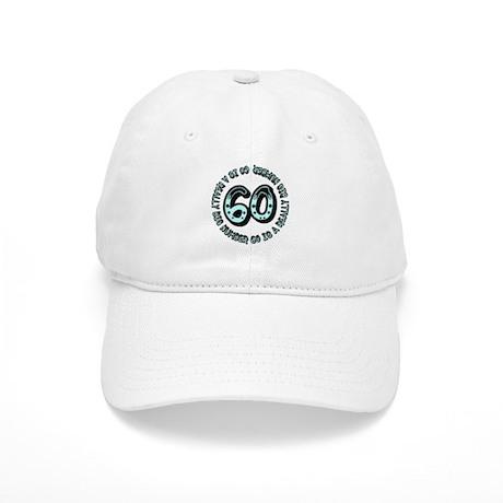 60th birthday, big sixty Cap