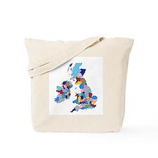 England, Ireland, Scotland Wales Tote Bag