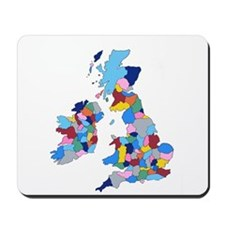 England, Ireland, Scotland Wales Mousepad