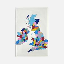 England, Ireland, Scotland Wales Rectangle Magnet
