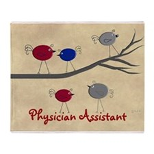 Physician Assistant Throw Blanket