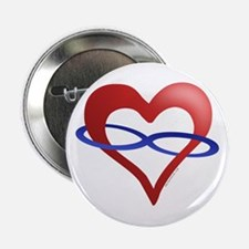Infinite Love Heart Button