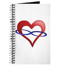 Infinite Love Heart Journal