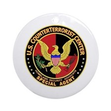 Counter Terrorist Center Ornament (Round)