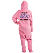 AWESOMEGRAMMIEBLUEBL.png Footed Pajamas