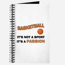 Basketball It's a Passion Journal