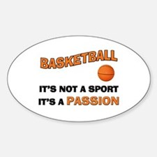 Basketball It's a Passion Decal