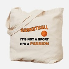 Basketball It's a Passion Tote Bag