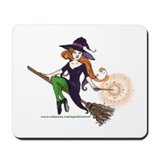 the redheaded witch  Mousepad