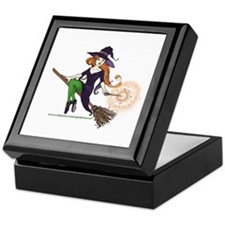 the redheaded witch Keepsake Box