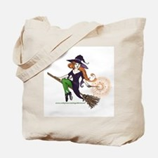 the redheaded witch Trick or Treat Bag