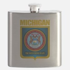 Michigan Gold Label Flask