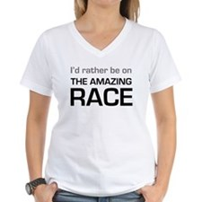 Id Rather be on The Amazing Race Shirt