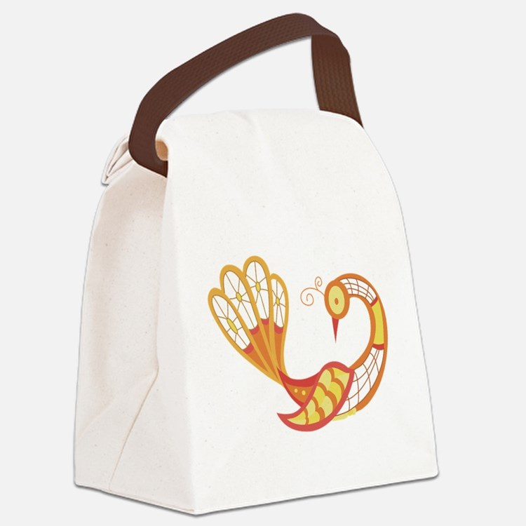 lacebirdnine.png Canvas Lunch Bag