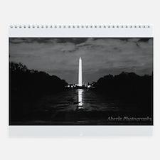 Cute Washington monument Wall Calendar