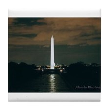 Cute Washington monument Tile Coaster