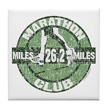 Marathon Club Tile Coaster